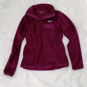 Purple Patagonia Fleece